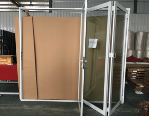 Aluminium Double Glazed Bi Fold Doors 01