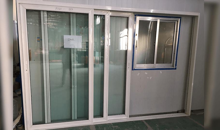 Aluminium Double Glazed Stacker Doors 03