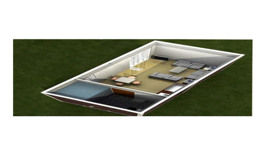 Container Large Room T Model 02