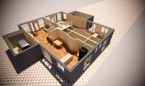 Duplex Design Home Plan – B D