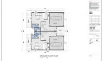 Duplex Design Home Plan – T