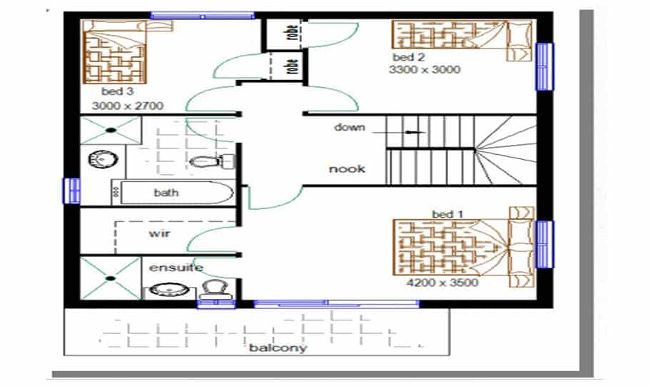 Duplex Design Plan 146 02
