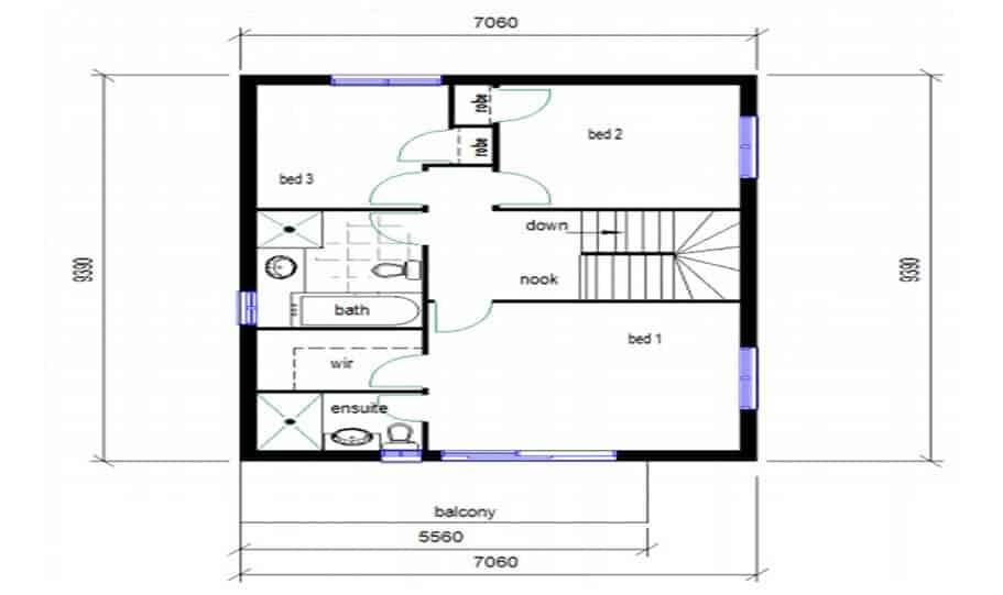 Duplex Design Plan 146 03