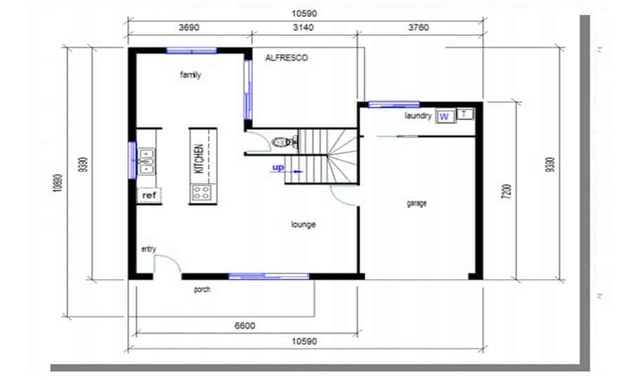 Duplex Design Plan 146 04