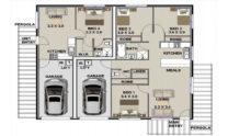 Duplex Design Plan 153 DUK 01