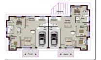 Duplex Design Plan 173 DUK 01