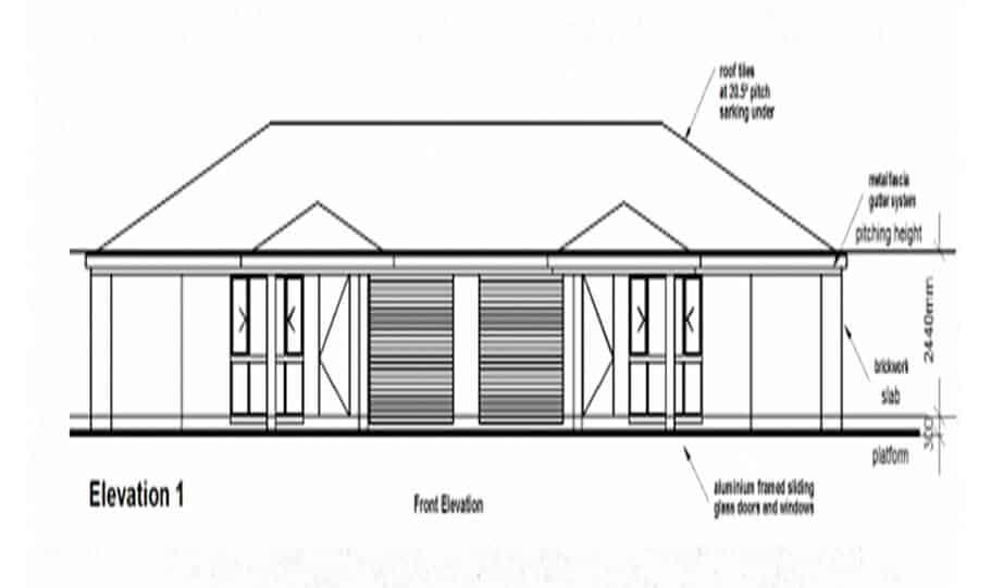 Duplex Design Plan 173 DUK 03