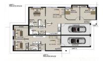 Duplex Design Plan 183 DUK 01