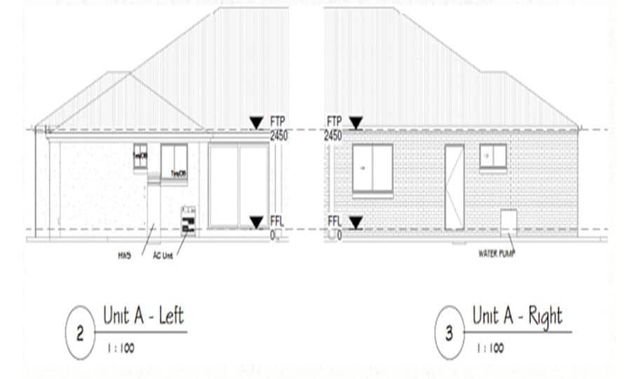 Duplex Design Plan 295 DUK 04
