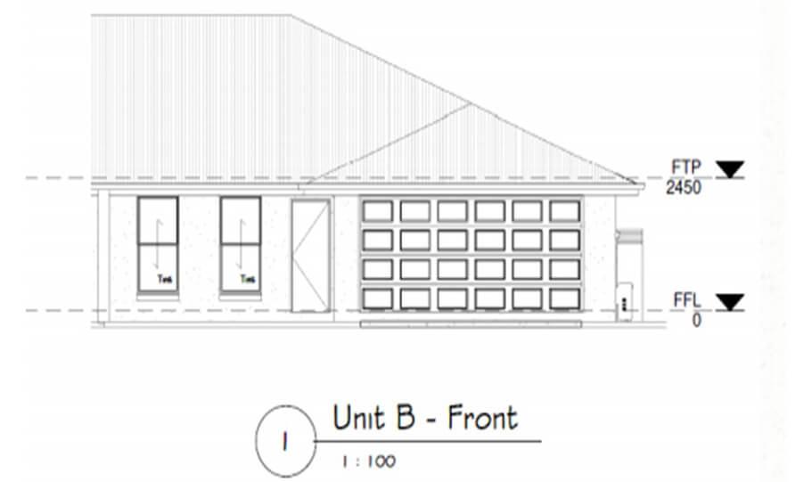 Duplex Design Plan 295 DUK 05