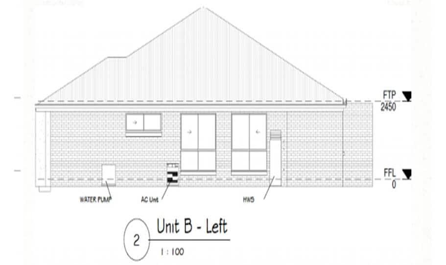 Duplex Design Plan 295 DUK 06