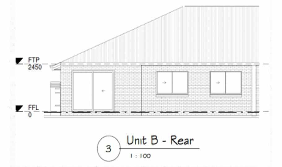 Duplex Design Plan 295 DUK 07