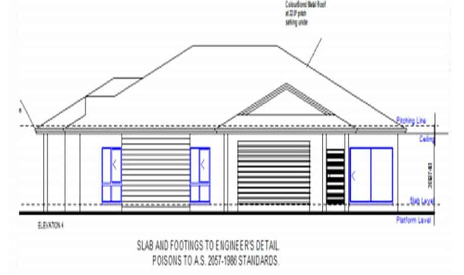 Duplex Design Plan 318 T 06