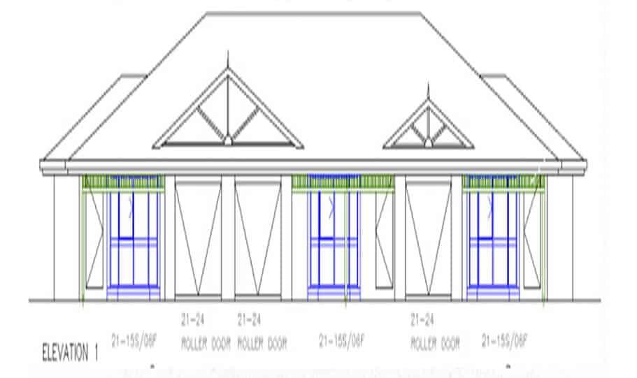 Duplex Design Plan 336 DUK 07