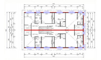 Duplex Kit Design Home Plan – 491N 01