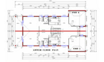 Duplex Kit Design Home Plan – 491N 02