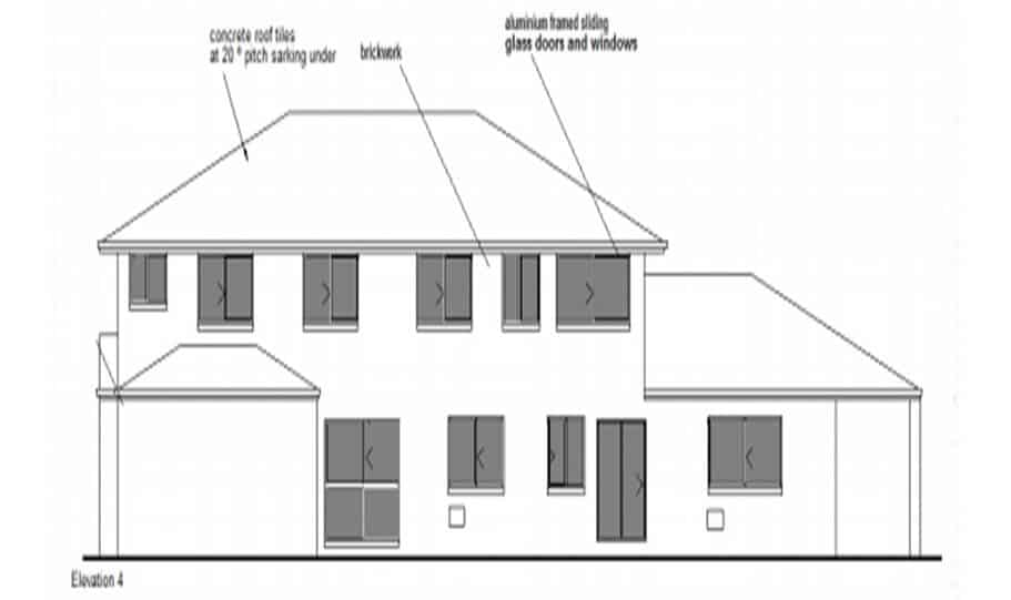 Duplex Kit Design Home Plan – 491N 06