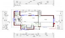 Duplex Kit Home Design Plan 213 05