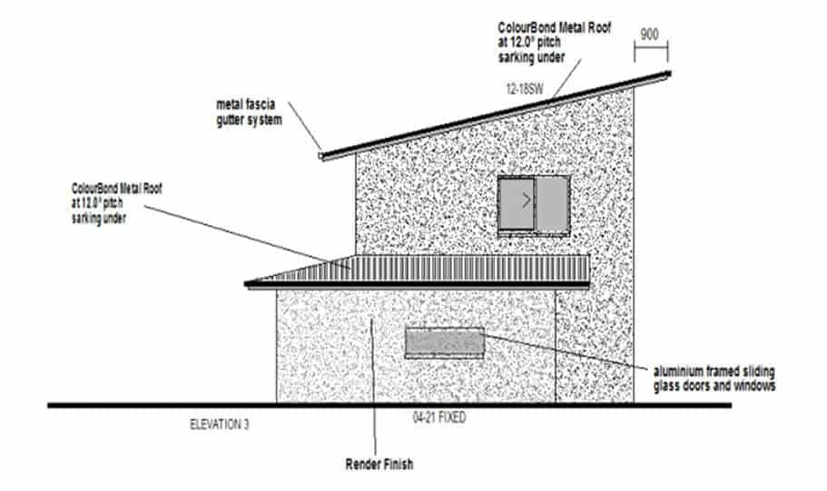 Duplex Kit Home Design Plan 213 08