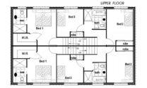 Duplex Kit Home Design Plan 297A 01