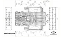 Duplex Kit Home Design Plan 297B 01