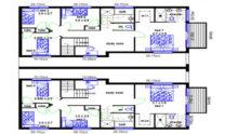 Duplex Kit Home Design Plan 299T 01