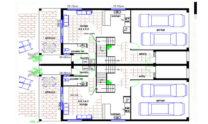 Duplex Kit Home Design Plan 299T 02