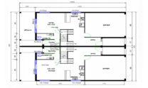 Duplex Kit Home Design Plan 299T 04