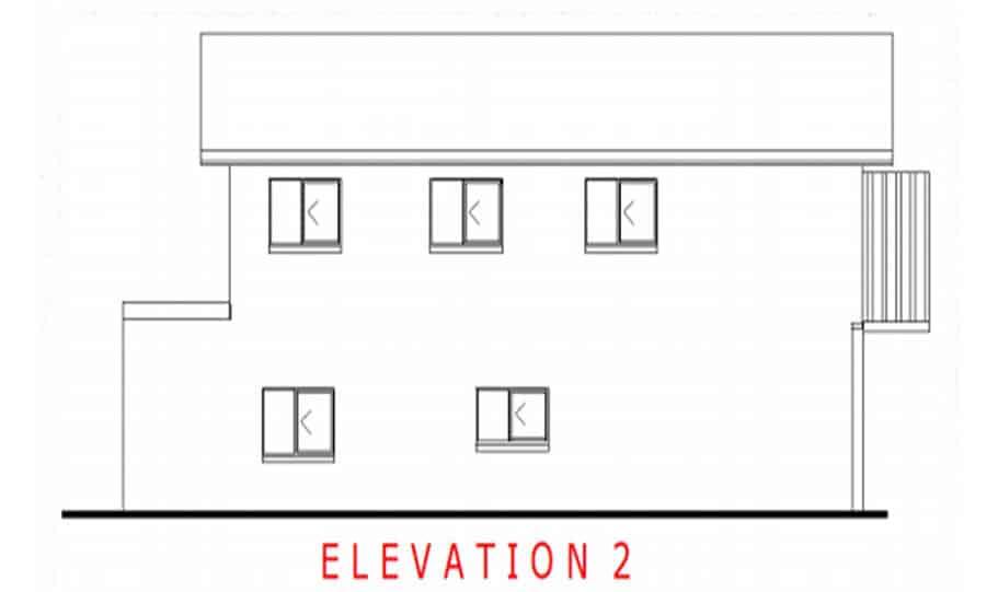 Duplex Kit Home Design Plan 299T 06
