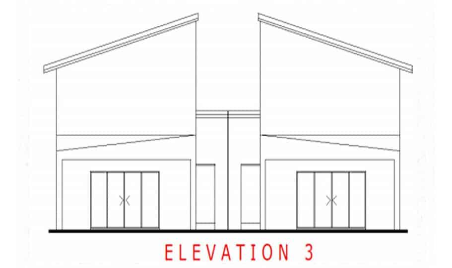 Duplex Kit Home Design Plan 299T 07