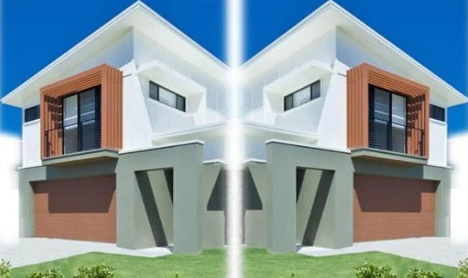 Duplex Kit Home Design Plan 299T 09