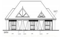 Duplex Kit Home Design Plan 345 TD 01