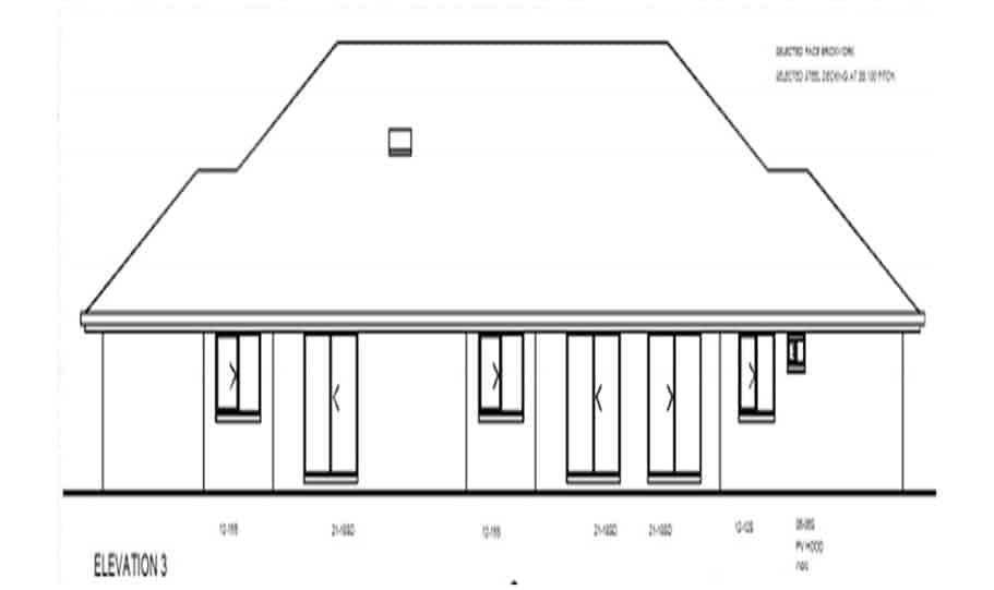 Duplex Kit Home Design Plan 345 TD 03
