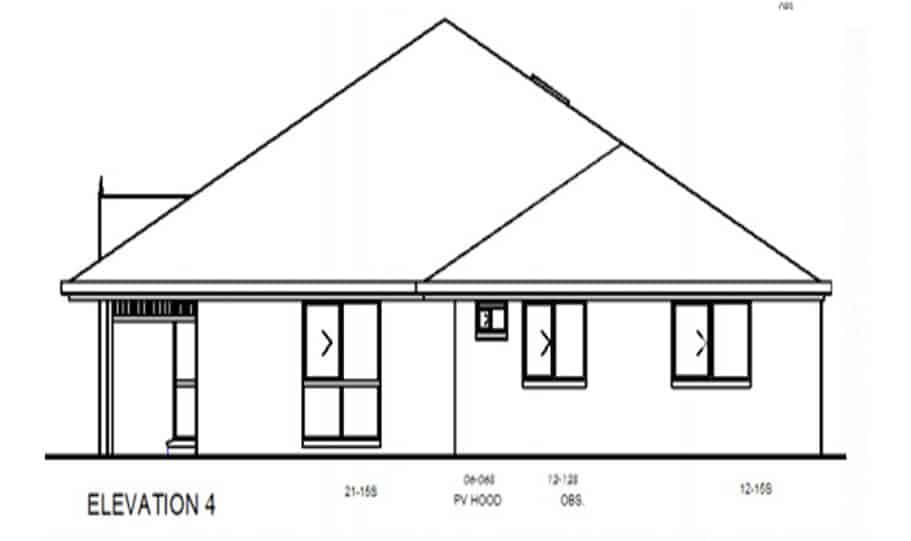 Duplex Kit Home Design Plan 345 TD 04