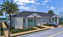 Duplex Kit Home Plan 234DUK 234.2m2 6 Bedrooms 2 Bath