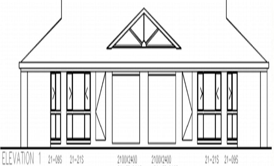 Duplex Kit Home Plan 234DUK 234.2m2 6 Bedrooms 2 Bath 4