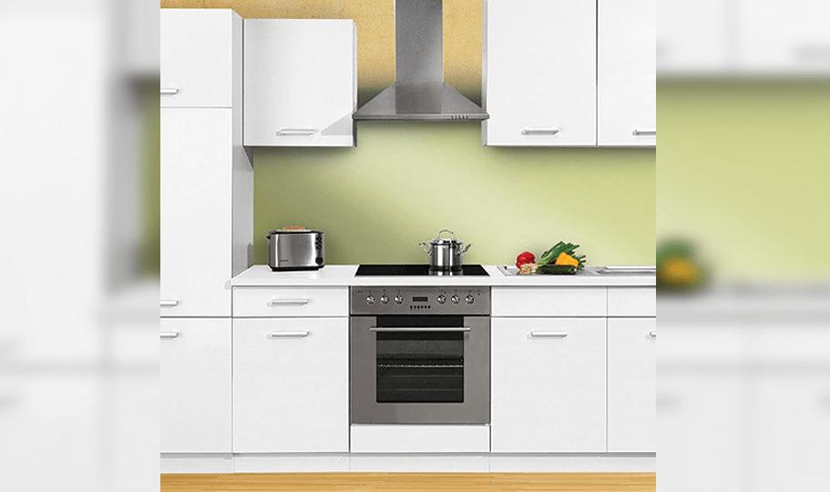 Flat pack block kitchen cabinet set