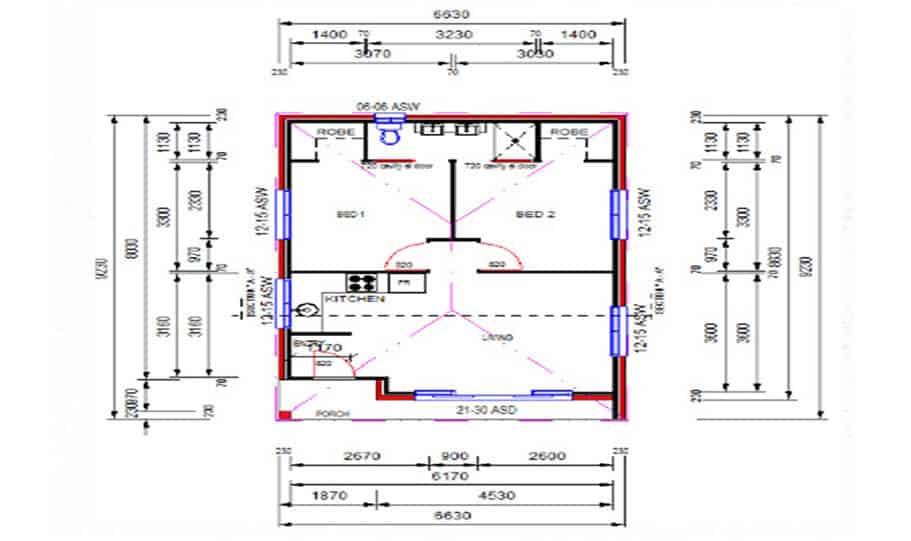 Granny Flat Kit Home Design 55 02