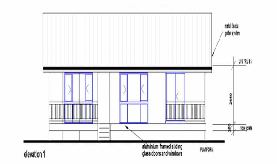 Granny Flat Kit Home Design 55B 02