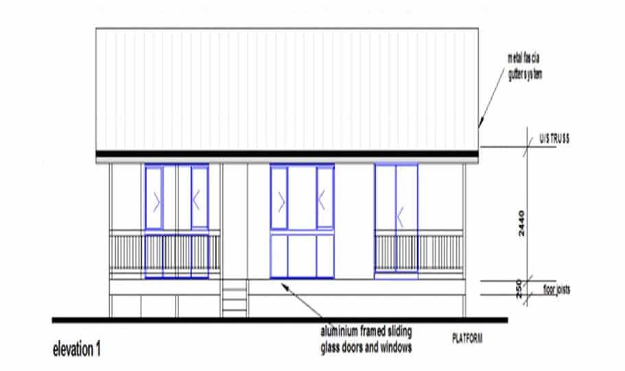 Granny Flat Kit Home Design 55B 03