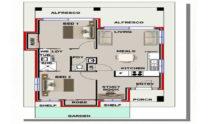 Granny Flat Kit Home Design 60A 01