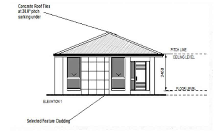 Granny Flat Kit Home Design 60A 03