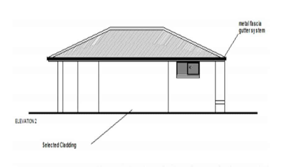 Granny Flat Kit Home Design 60A 04