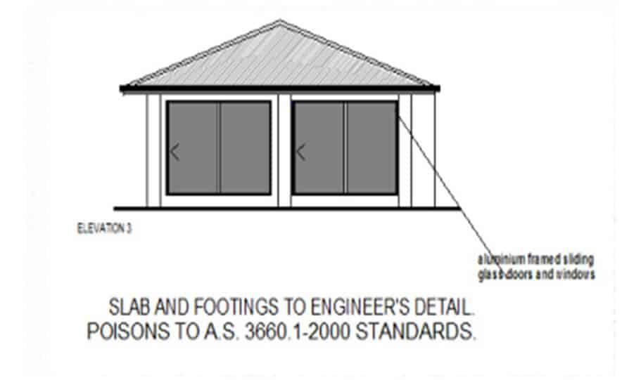 Granny Flat Kit Home Design 60A 05