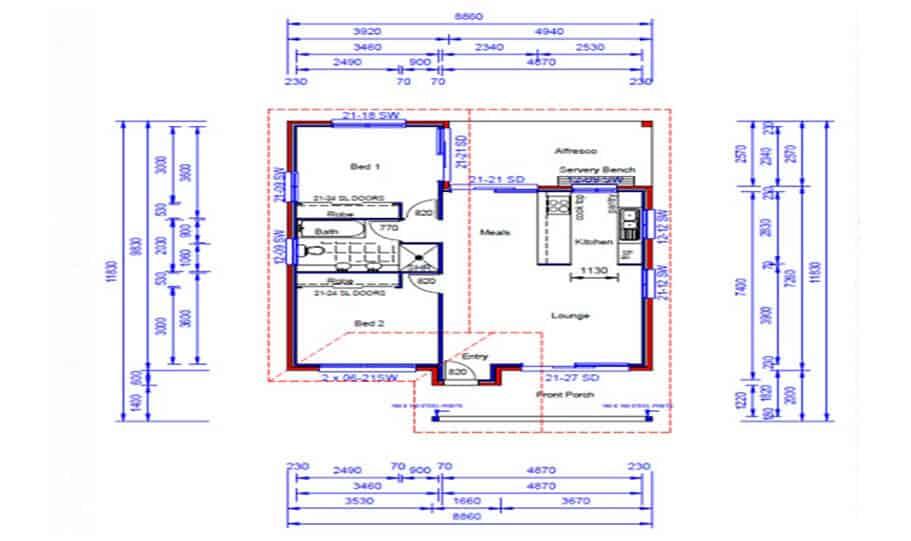 Granny Flat Kit Home Design 73 02