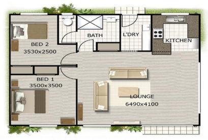 Granny Flat Kit Home Design 85 01