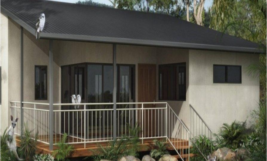 Granny Kit Home Plan – B M Bed Bath
