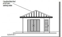 Granny Kit Home Plan – M Bed Bath