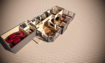 One Storey Kit Homes Plan – N D