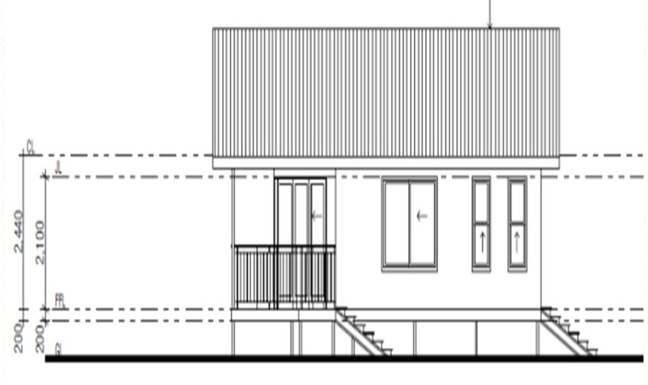 One Storey Kit Homes Plan 100 A 100 m2 2 Bed 12
